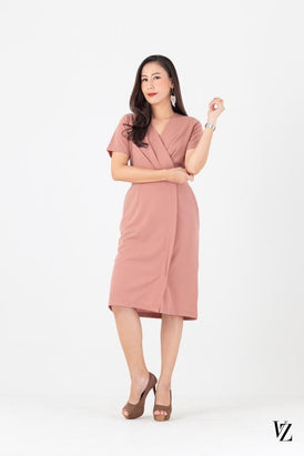 91397 Sleeve Bell Dress