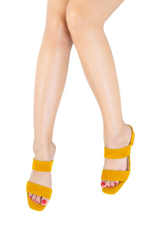 16010 Unique Barnett Sandals Yellow