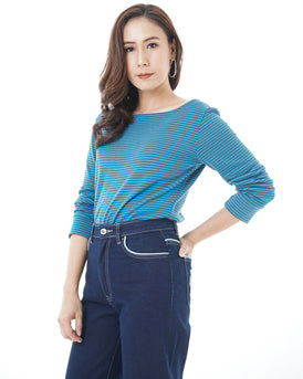 93441 Sailor Stripe Top - VIRIS ZAMARA