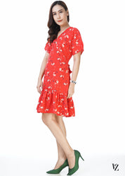 21069 JulieTropical Dress