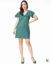 21071 Naval Collar Dress