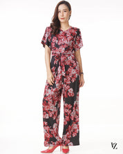 92463 Love Me My Floral Jumpsuit