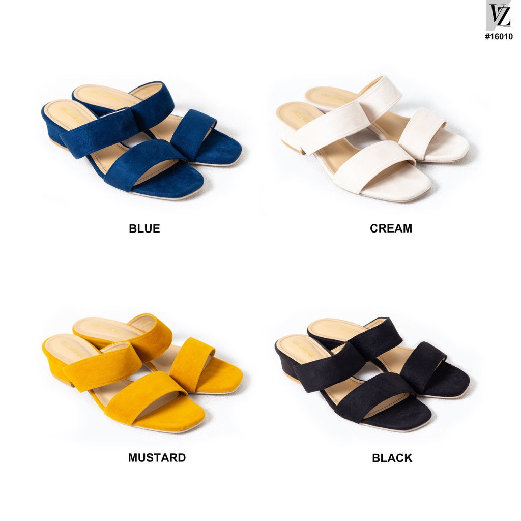 16010 Unique Barnett Sandals Blue - VIRIS ZAMARA