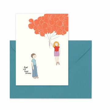 BirthDay  Card- Original and Adorable Greeting Card