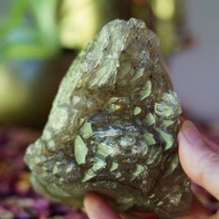 Smokey Elestial Quartz Cluster of Otherworldly Guidance