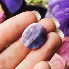 Purple Tiffany Stone Cabochon - Hand Cut and Polished