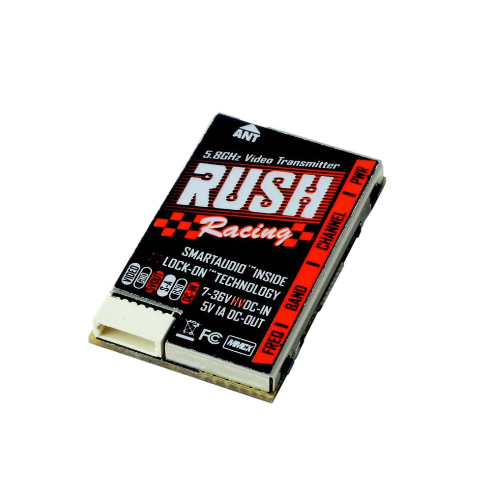 Rush TANK 5.8G 48CH 0/25/50/200/500mW Racing VTx Total Rotor
