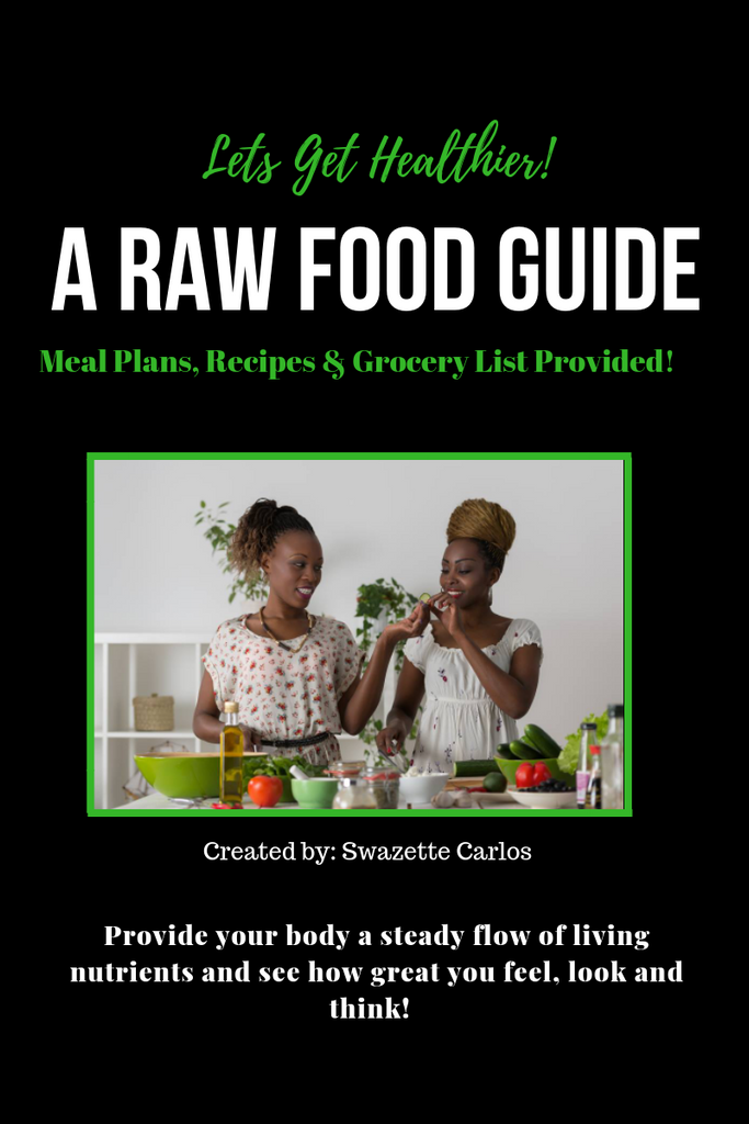 A RAW FOOD GUIDE