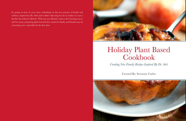 Family Festive Cookbook - Print Version