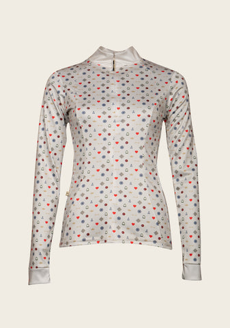 Espoir Beige Queen UV Everyday Riding Shirt
