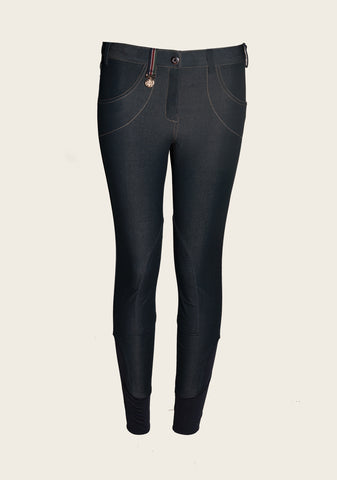 Denim Breeches Darker Navy - Espoir Equestrian