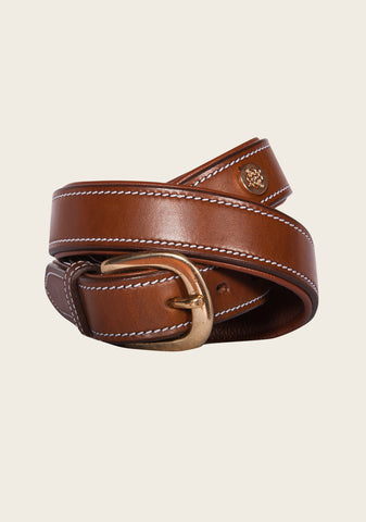 Tan Padded Belt
