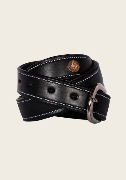 Black Padded Belt