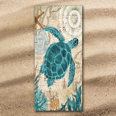 Sand Free Beach Towel-The Original Lion Spirit Sand Free Towel-Coastal Passion