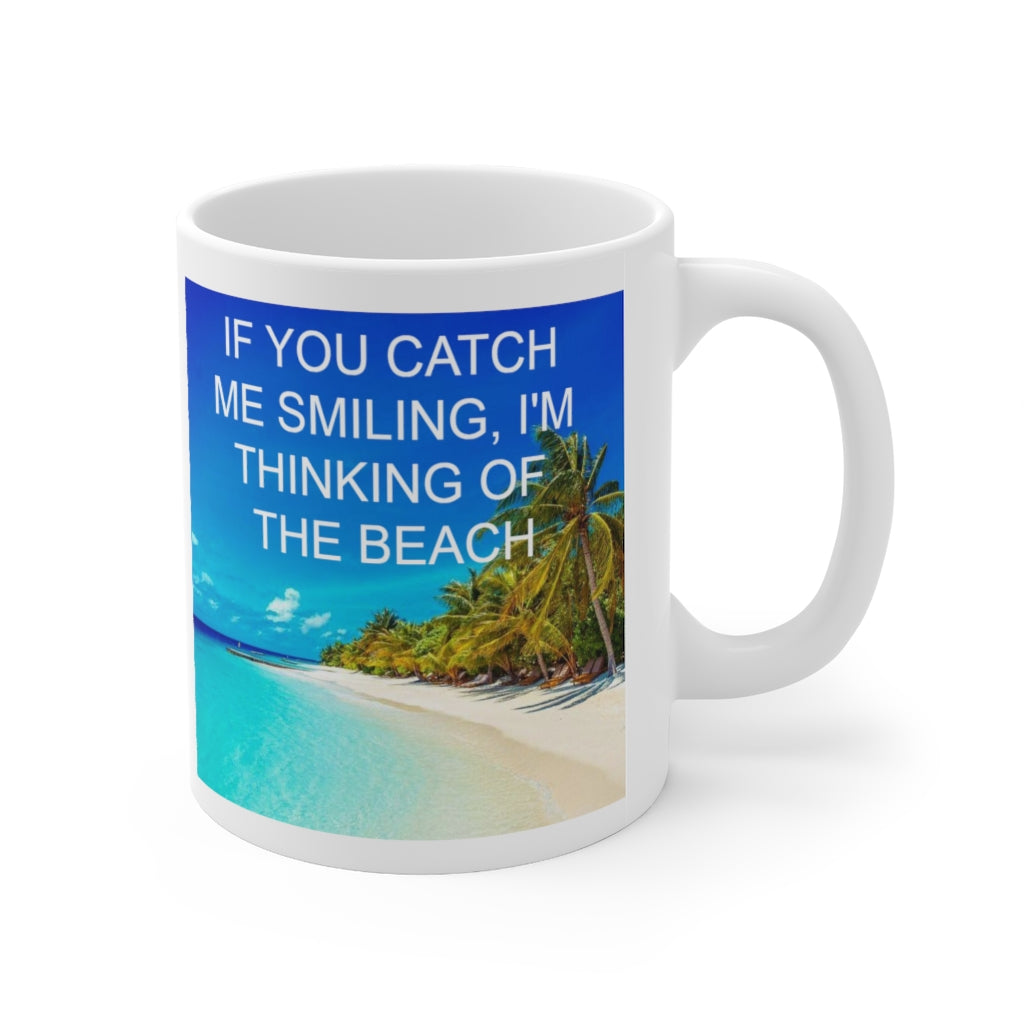 Thinking of the Beach Ceramic Mug