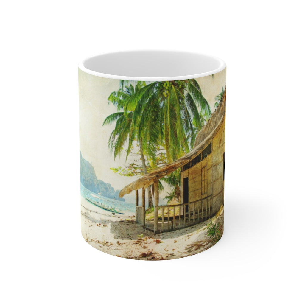 Tropical Dreams Ceramic Mug