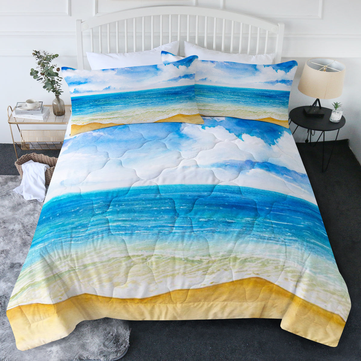 Beach Painting Comforter Set