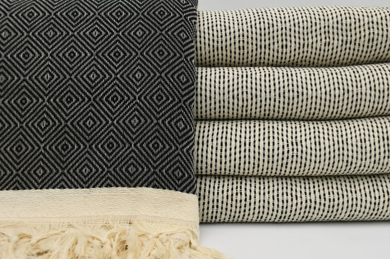 Black Four Seasons Blanket-Coastal Passion