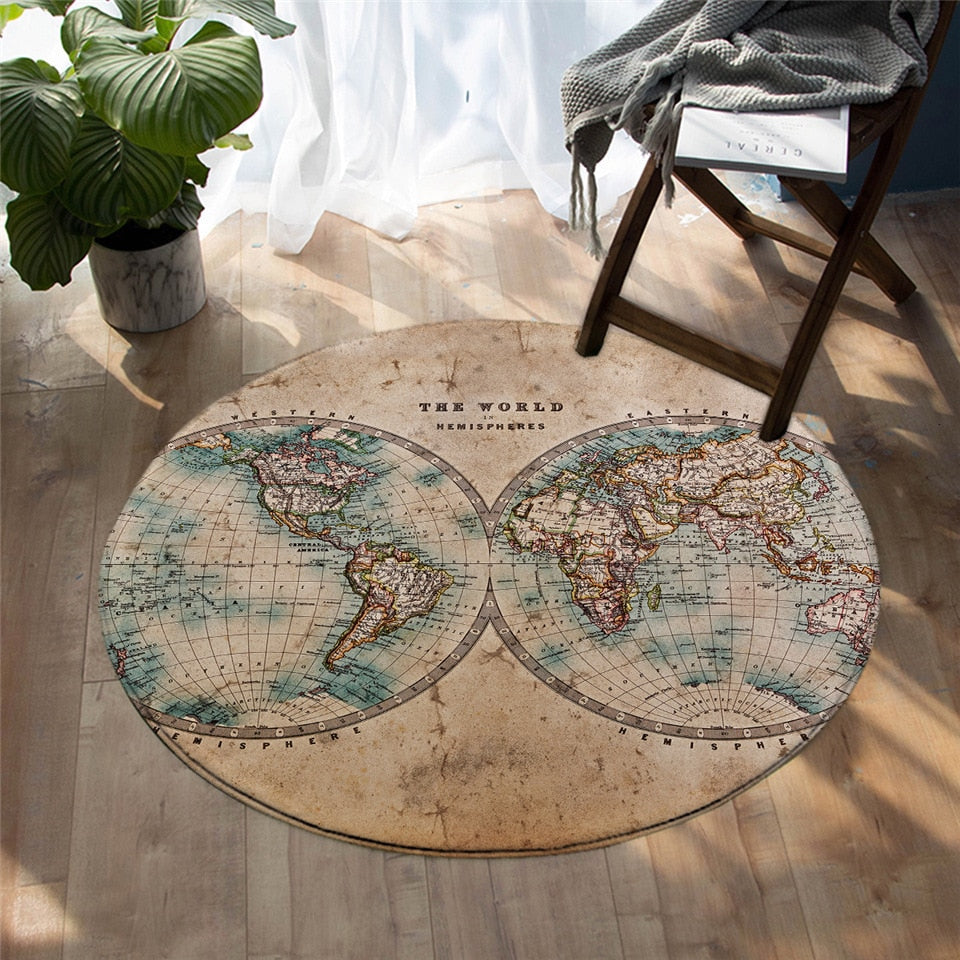 The World Round Area Rug