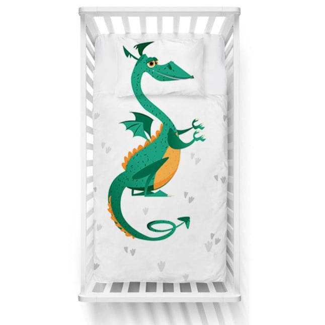 Little Dragon Crib Bedding