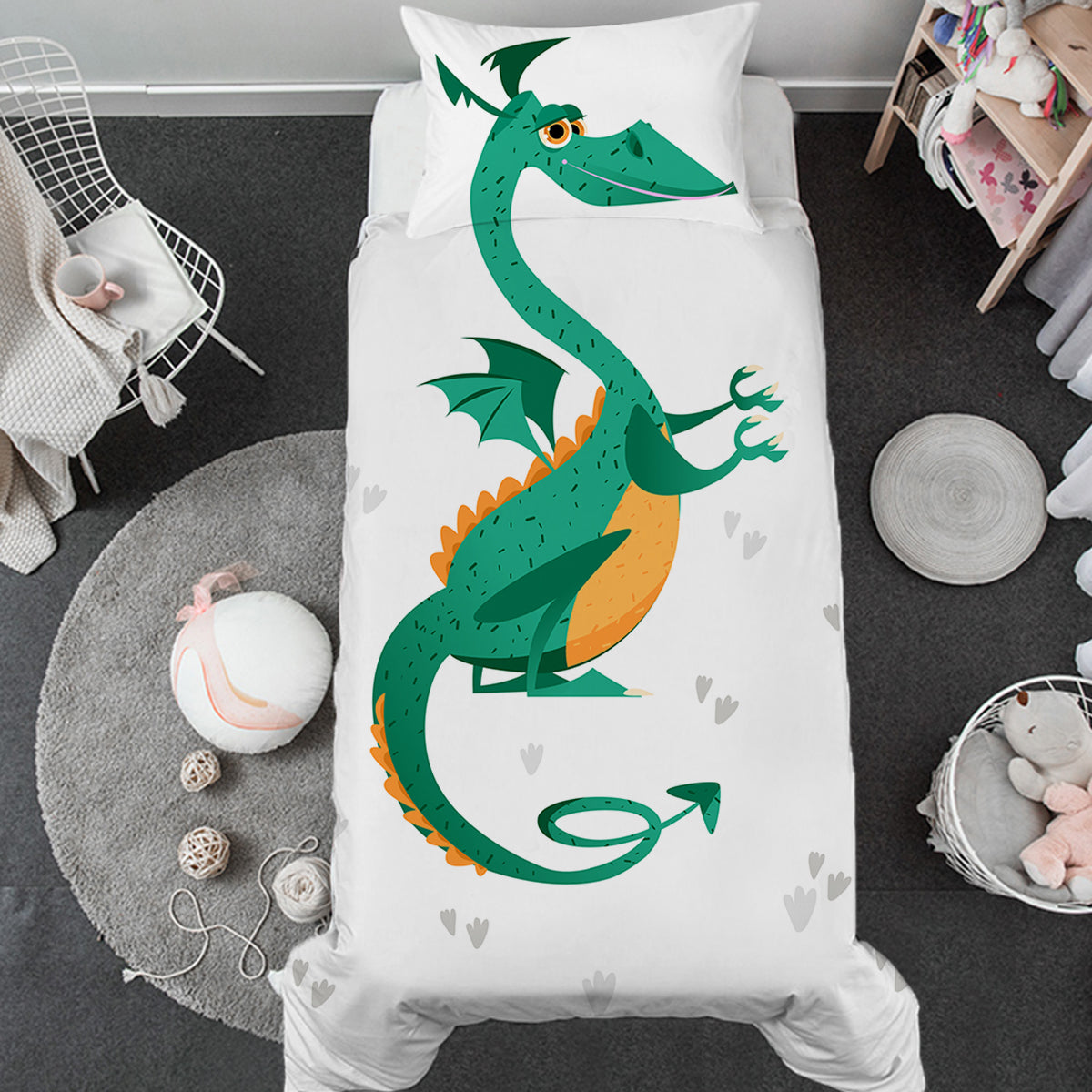 Little Dragon Toddler Bed Set
