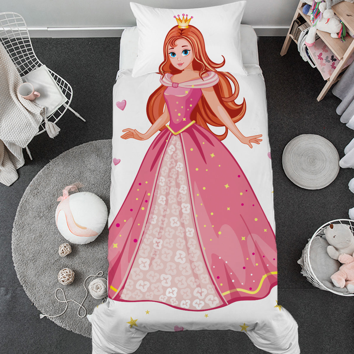 Little Princess Toddler Bed Set