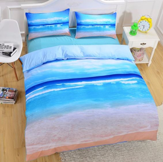 Peace of the Beach Bedding Set