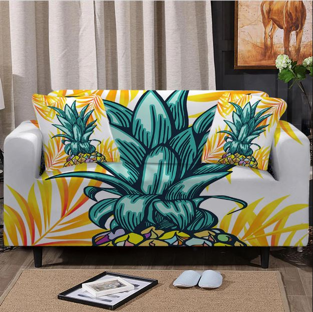 Pineapple Crown Couch Cover