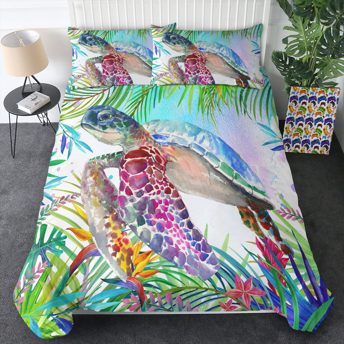 Tropical Sea Turtle Bedding Set