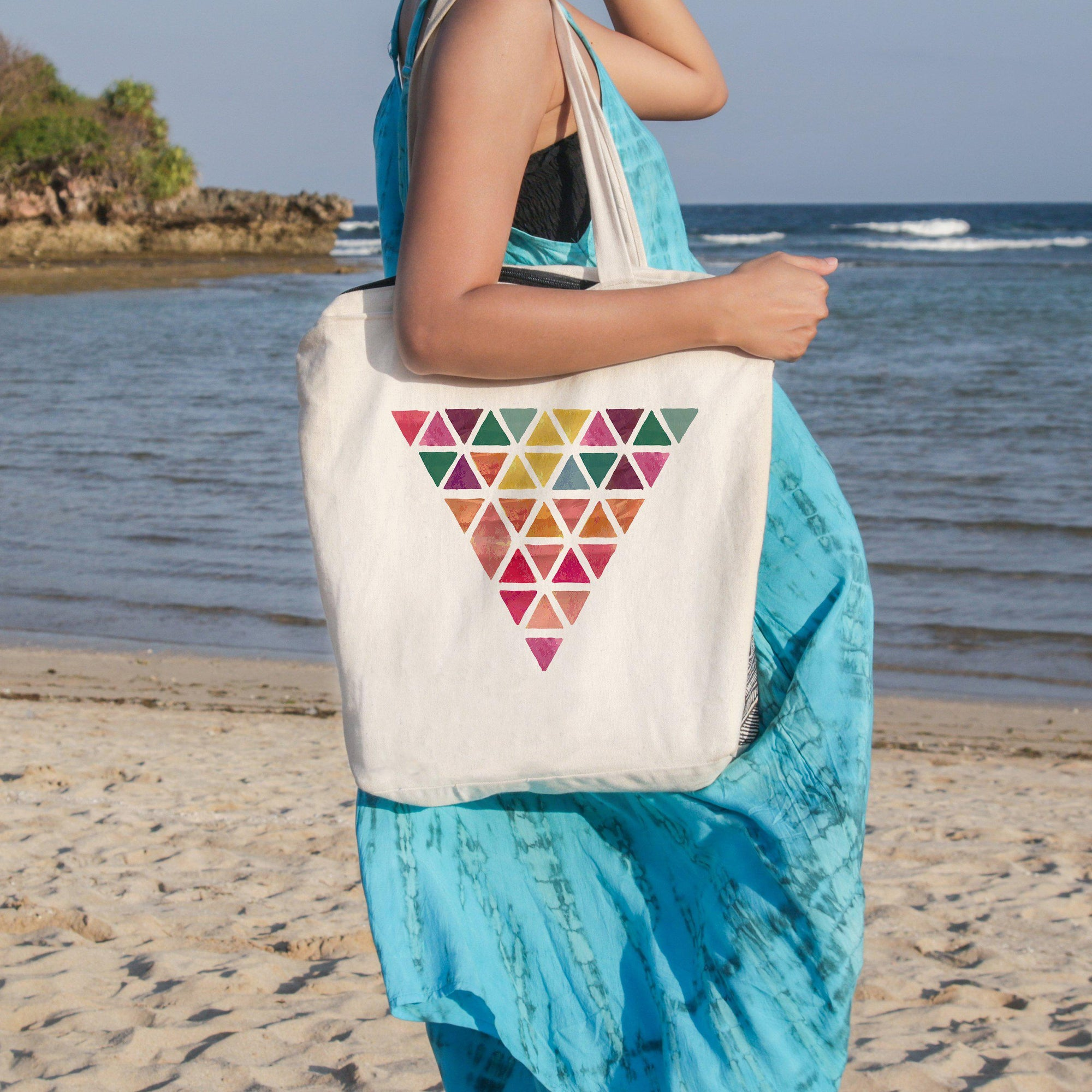 Tropical Passion Beach Tote-Coastal Passion