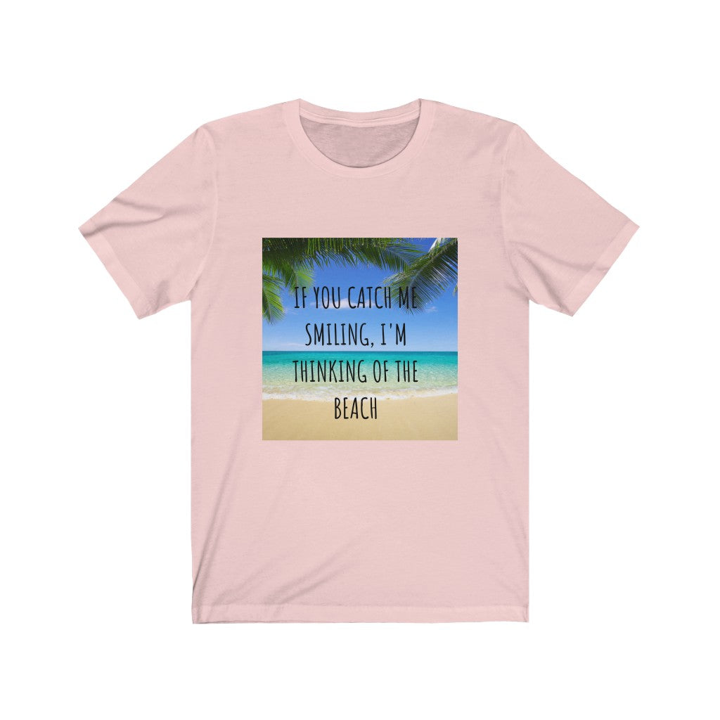 Thinking of the Beach Women's Fine Jersey Tee