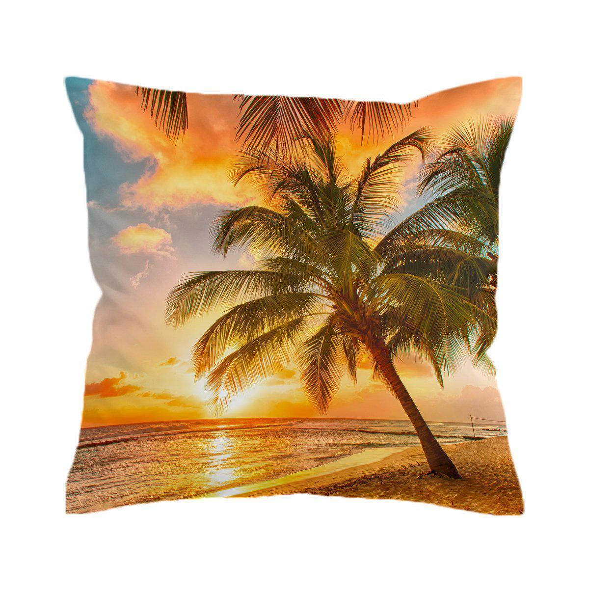 Barbados Pillow Cover-Coastal Passion