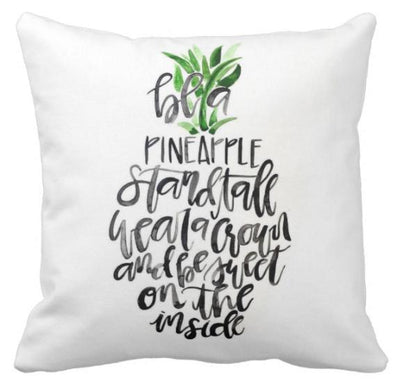 Be A Pineapple Collection-Pillow Cover-Be A Pineapple 3-Canvas-Coastal Passion