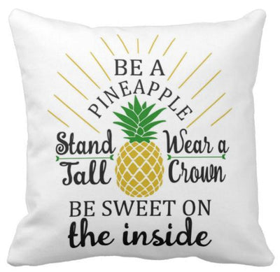 Be A Pineapple Collection-Pillow Cover-Be A Pineapple 5-Canvas-Coastal Passion