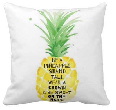 Be A Pineapple Collection-Pillow Cover-Be A Pineapple 1-Canvas-Coastal Passion