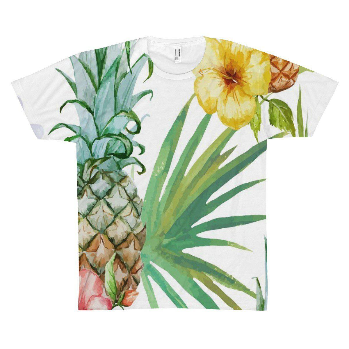 Be a Pineapple Tee-All Over Prints-XS-Coastal Passion