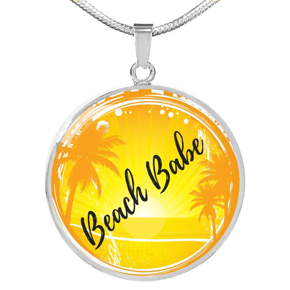 Beach Babe Necklace-Coastal Passion