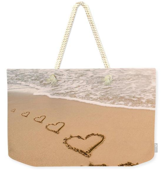 Beach Lover Weekender Tote Bag-Cotton rope strap-Coastal Passion