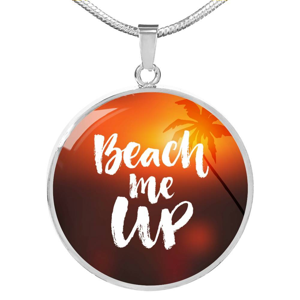 Beach Me Up Necklace-Coastal Passion