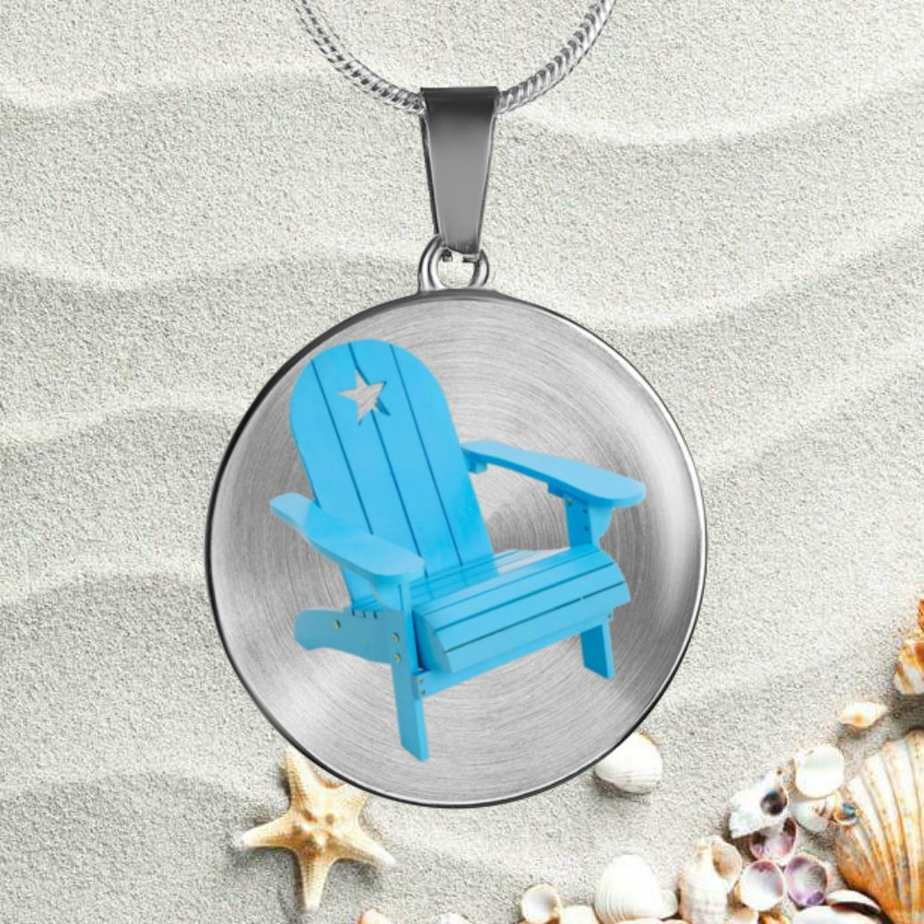 Beachy Adirondack Necklace-Jewelry-Coastal Passion