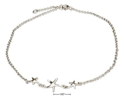 Beachy Anklet-Starfish-Coastal Passion