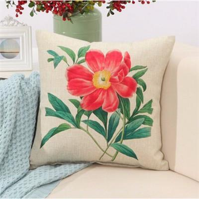 "Birds & Blooms Collection-Pillow Cover-Birds & Blooms Collection 4-17"" X 17""-STANDARD-Coastal Passion"