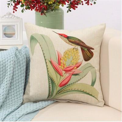 "Birds & Blooms Collection-Pillow Cover-Birds & Blooms Collection 6-17"" X 17""-STANDARD-Coastal Passion"