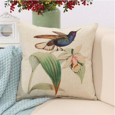 "Birds & Blooms Collection-Pillow Cover-Birds & Blooms Collection 8-17"" X 17""-STANDARD-Coastal Passion"