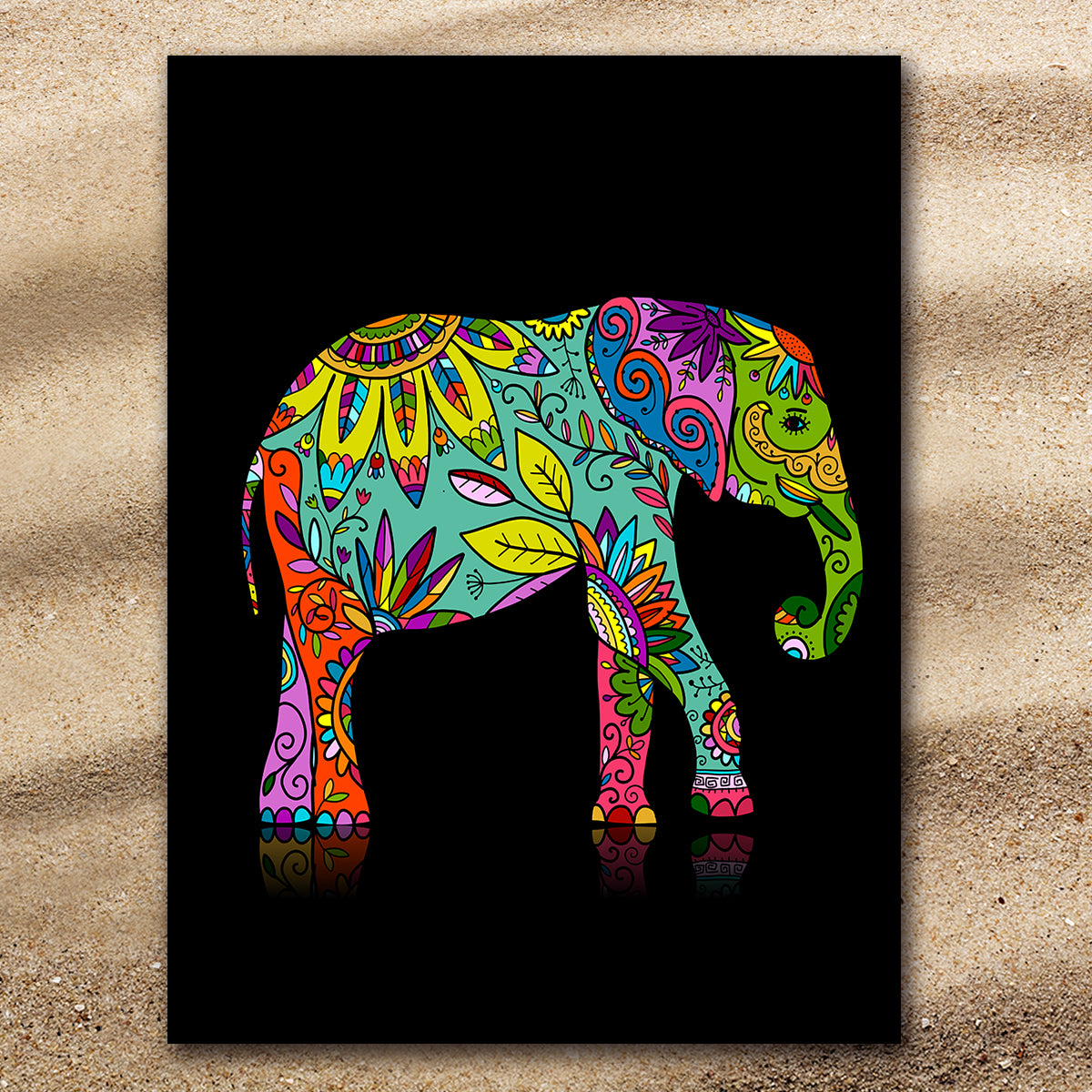 Free Spirit Elephant Extra Large Towel