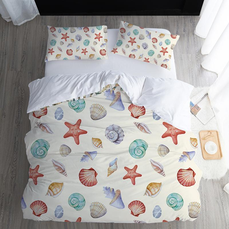 By The Seashore Bedding Set-Duvet Comforter Bedding Set-Coastal Passion