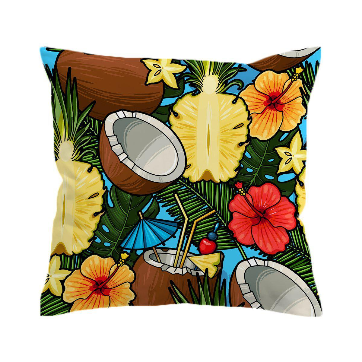 Cayo Coco Pillow Cover-Coastal Passion
