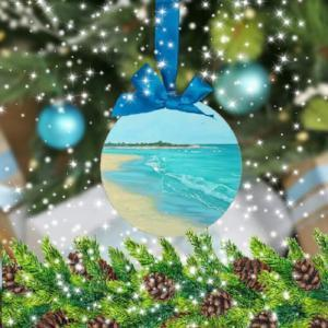 Coastal Christmas Tree Ornaments--Coastal Passion