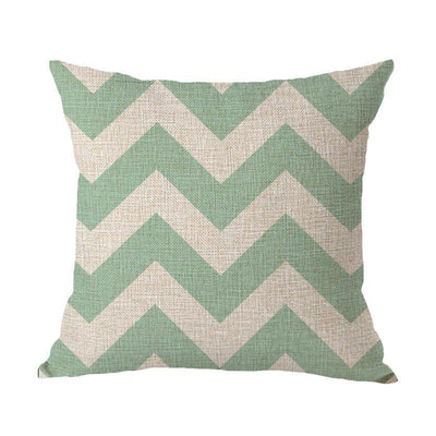 Coastal Geometric Collection-Pillow Cover-Coastal Passion