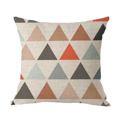 Coastal Geometric Collection-Pillow Cover-Style 2-Coastal Passion